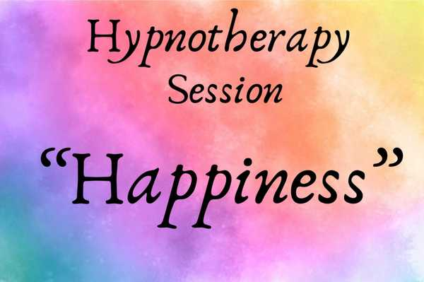 Happiness Hypnotherapy Session